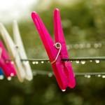 雨が続くときの洗濯干しの便利品